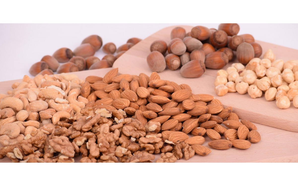 PORTION OF NUTS